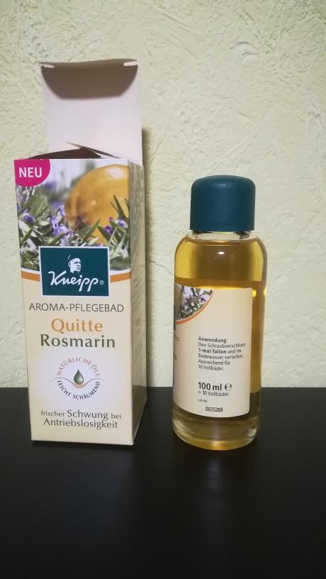 Produktbild Aroma PflegebadRosmarin Quitte