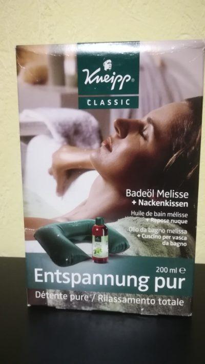 Kneip Badeöl Melisse+Nackenkissen